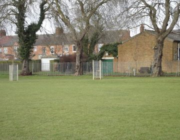 New trees planted in Dunkirk Avenue Recreation ground